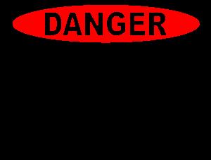 Overhead Powerline Sign